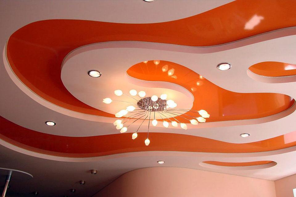 можно многоуровневые натяжные потолки фотогалерея сливочные ванильные капкейки